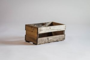 CD Holder Wood Crate