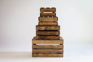 Wooden Nesting Boxes/Wood Crates