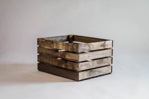 Rustic Wood Crate