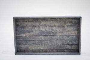 Medium Antique Gray Serving Tray