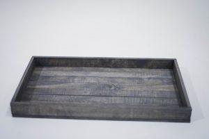 Medium Antique Gray Serving Tray