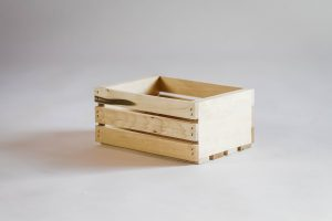 Small Natural Crate